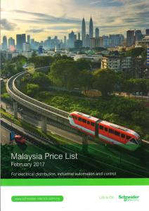 Schneider Malaysia Price List 2017