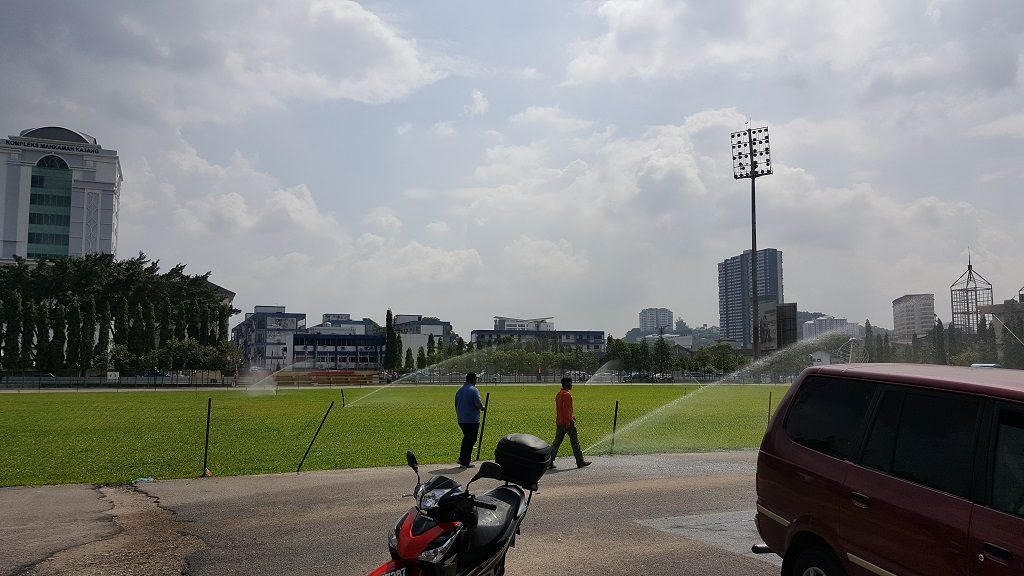 Football Field Agricultural Inverter Watering System