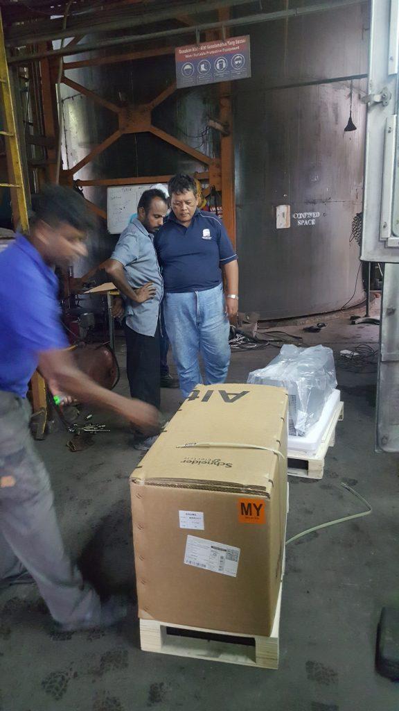 boiler inverter unpacking