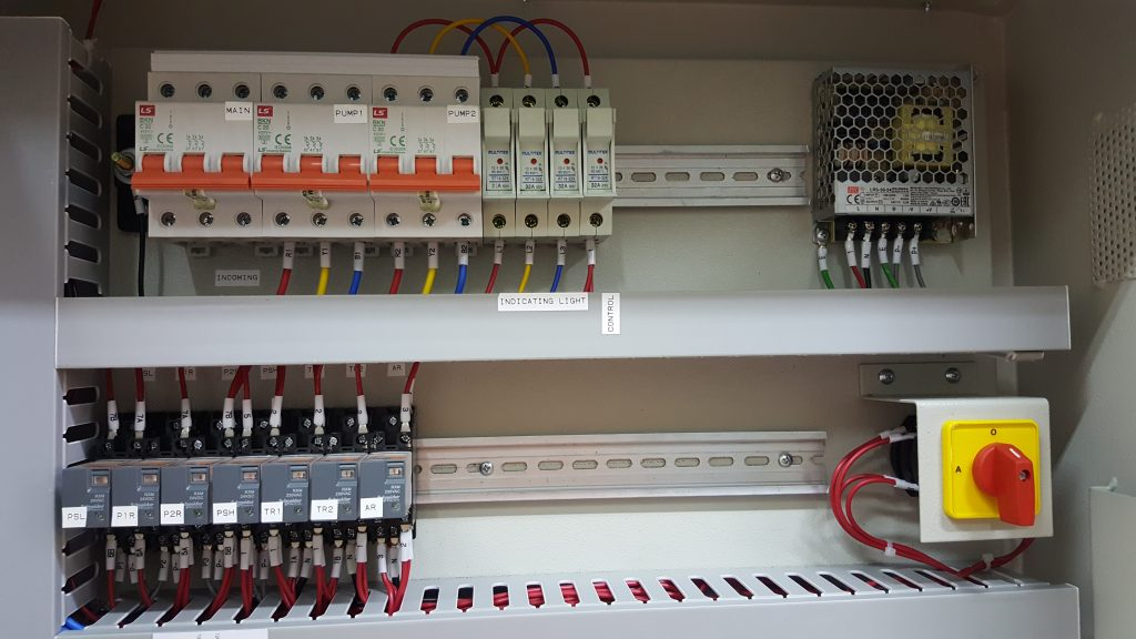 Direct Online DOL Motor Starter Panel Malaysia - Control