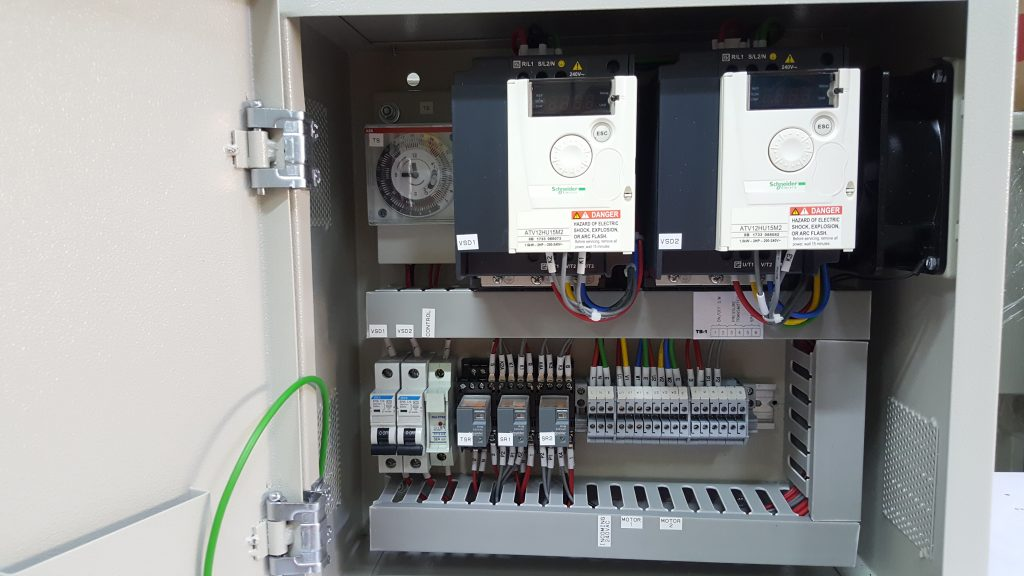 Household Inverter Panel Malaysia - Internal