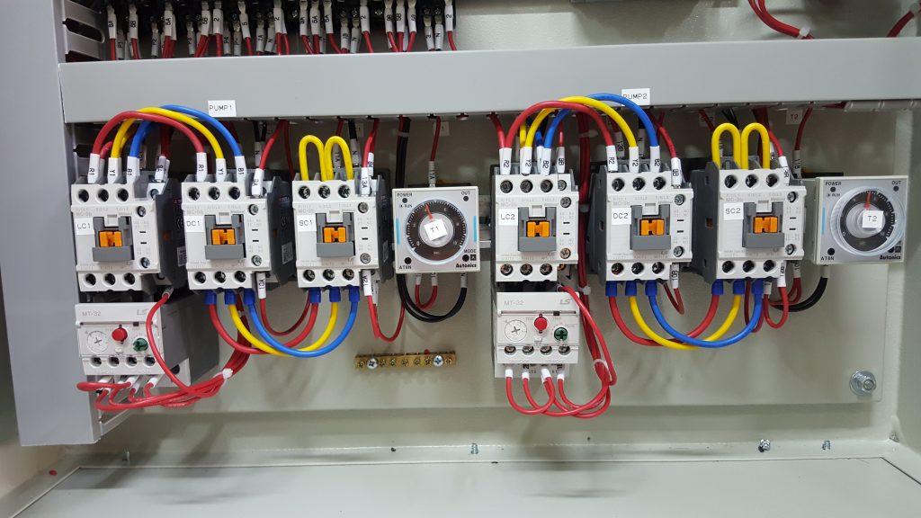 Star-Delta Motor Starter Panel Contactor