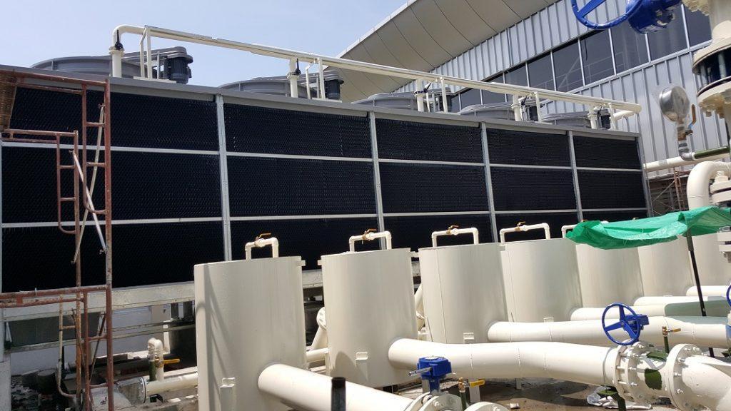 Chilled Water Pump Inverter Installation 1