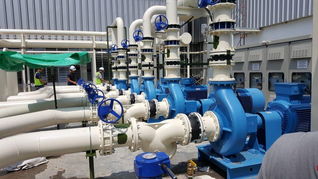 Chilled Water Pump Inverter Installation 2